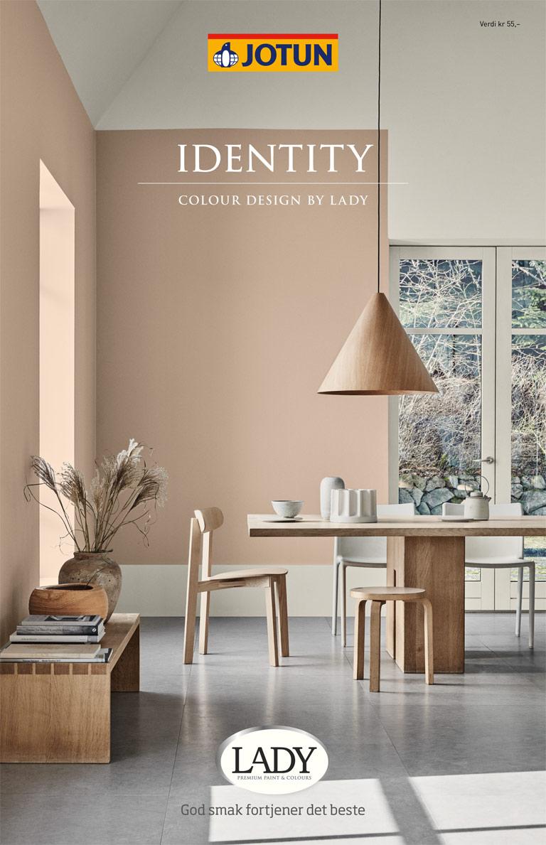LADY Indentity farvekort – styling af billeder
