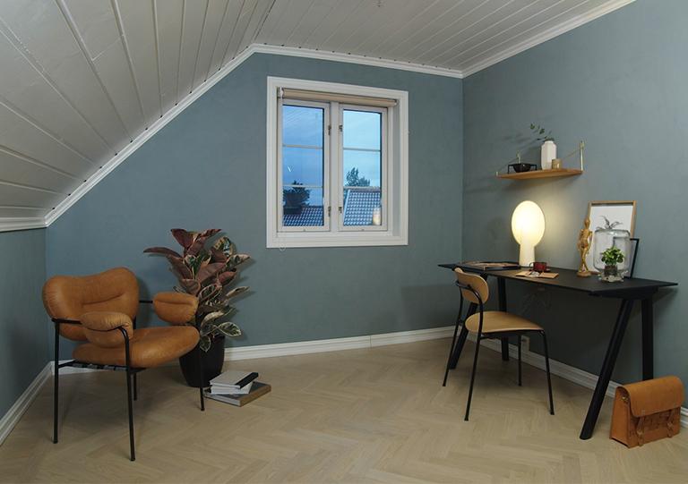 Se den store forvandling af værelset!